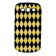 Diamond1 Black Marble & Yellow Watercolor Samsung Galaxy S Iii Classic Hardshell Case (pc+silicone) by trendistuff