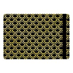 Scales2 Black Marble & Yellow Watercolor (r) Apple Ipad Pro 10 5   Flip Case by trendistuff