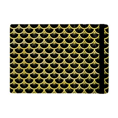 Scales3 Black Marble & Yellow Watercolor (r) Apple Ipad Mini Flip Case by trendistuff