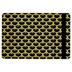 Scales3 Black Marble & Yellow Watercolor (r) Ipad Air 2 Flip by trendistuff