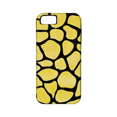 Skin1 Black Marble & Yellow Watercolor (r) Apple Iphone 5 Classic Hardshell Case (pc+silicone) by trendistuff