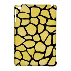 Skin1 Black Marble & Yellow Watercolor (r) Apple Ipad Mini Hardshell Case (compatible With Smart Cover) by trendistuff