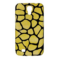Skin1 Black Marble & Yellow Watercolor (r) Samsung Galaxy Mega 6 3  I9200 Hardshell Case