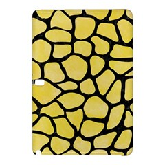 Skin1 Black Marble & Yellow Watercolor (r) Samsung Galaxy Tab Pro 12 2 Hardshell Case by trendistuff