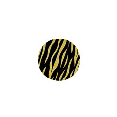 Skin3 Black Marble & Yellow Watercolor (r) 1  Mini Magnets by trendistuff