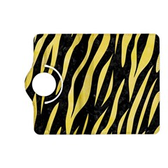 Skin3 Black Marble & Yellow Watercolor (r) Kindle Fire Hd (2013) Flip 360 Case by trendistuff