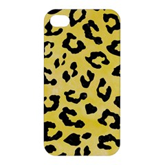 Skin5 Black Marble & Yellow Watercolor (r) Apple Iphone 4/4s Hardshell Case by trendistuff