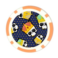 Card Cover Poker Chip by Wanni