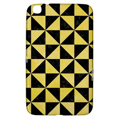 Triangle1 Black Marble & Yellow Watercolor Samsung Galaxy Tab 3 (8 ) T3100 Hardshell Case  by trendistuff