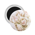 Pastel Roses Antique Vintage 2.25  Magnets