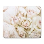 Pastel Roses Antique Vintage Large Mousepads