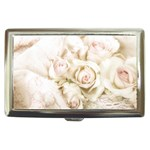 Pastel Roses Antique Vintage Cigarette Money Cases