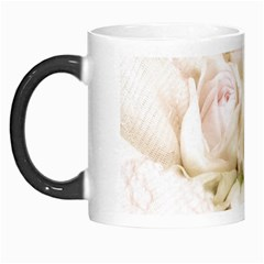 Pastel Roses Antique Vintage Morph Mugs