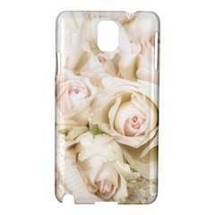 Pastel Roses Antique Vintage Samsung Galaxy Note 3 N9005 Hardshell Case by Celenk