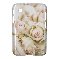 Pastel Roses Antique Vintage Samsung Galaxy Tab 2 (7 ) P3100 Hardshell Case  by Celenk