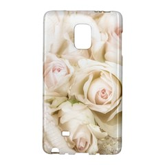 Pastel Roses Antique Vintage Galaxy Note Edge by Celenk
