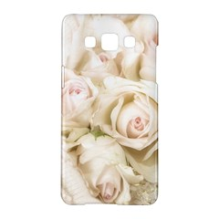 Pastel Roses Antique Vintage Samsung Galaxy A5 Hardshell Case  by Celenk