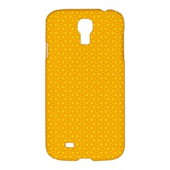 Texture Background Pattern Samsung Galaxy S4 I9500/i9505 Hardshell Case by Celenk
