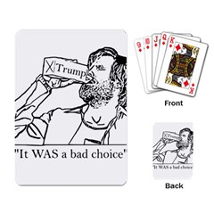 Trump Novelty Design Playing Card by PokeAtTrump