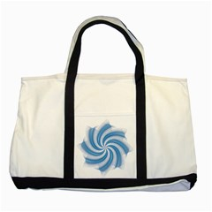 Prismatic Hole Blue Two Tone Tote Bag by Mariart