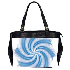 Prismatic Hole Blue Office Handbags (2 Sides)  by Mariart