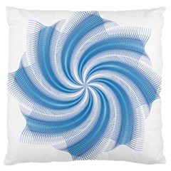 Prismatic Hole Blue Large Cushion Case (two Sides) by Mariart