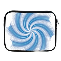 Prismatic Hole Blue Apple Ipad 2/3/4 Zipper Cases by Mariart