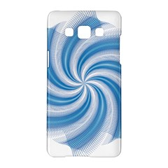Prismatic Hole Blue Samsung Galaxy A5 Hardshell Case  by Mariart