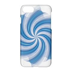 Prismatic Hole Blue Apple Iphone 7 Hardshell Case by Mariart