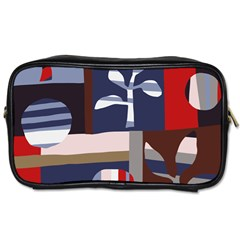 Surface Tree Polka Dots Toiletries Bags 2 Side by Mariart
