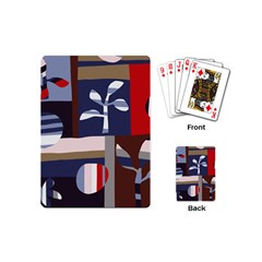 Surface Tree Polka Dots Playing Cards (mini)  by Mariart