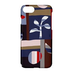 Surface Tree Polka Dots Apple Iphone 7 Hardshell Case by Mariart