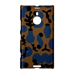 Superfiction Object Blue Black Brown Pattern Nokia Lumia 1520 by Mariart