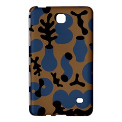 Superfiction Object Blue Black Brown Pattern Samsung Galaxy Tab 4 (8 ) Hardshell Case  by Mariart