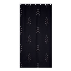 Tree Christmas Shower Curtain 36  X 72  (stall)  by Mariart