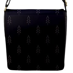 Tree Christmas Flap Messenger Bag (s) by Mariart