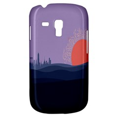 Wedding Lavender Moon Romantic Natural Galaxy S3 Mini by Mariart