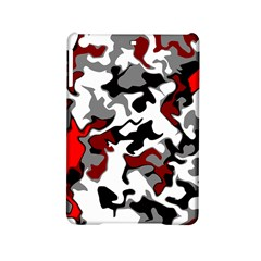 Vector Red Black White Camo Advance Ipad Mini 2 Hardshell Cases by Mariart