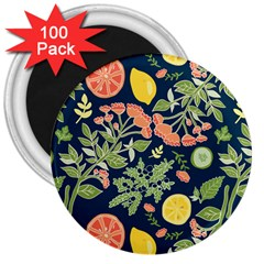 Summer Fruite Orange Lemmon Tomato 3  Magnets (100 Pack) by Mariart