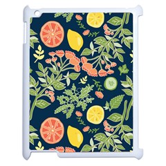 Summer Fruite Orange Lemmon Tomato Apple Ipad 2 Case (white) by Mariart