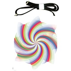 Prismatic Hole Rainbow Shoulder Sling Bags by Mariart