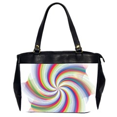 Prismatic Hole Rainbow Office Handbags (2 Sides)  by Mariart