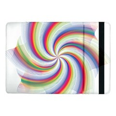 Prismatic Hole Rainbow Samsung Galaxy Tab Pro 10 1  Flip Case by Mariart