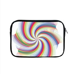 Prismatic Hole Rainbow Apple Macbook Pro 15  Zipper Case by Mariart
