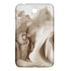 Vintage Rose Shabby Chic Background Samsung Galaxy Tab 3 (7 ) P3200 Hardshell Case  by Celenk