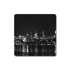 New York Skyline Square Magnet by Celenk