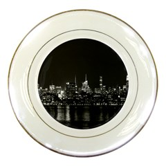 New York Skyline Porcelain Plates