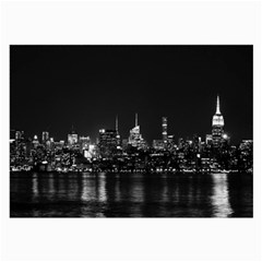 New York Skyline Large Glasses Cloth