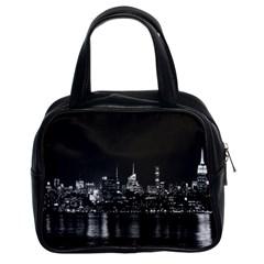 New York Skyline Classic Handbags (2 Sides)