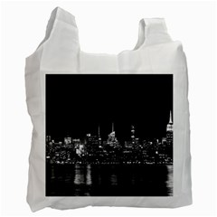 New York Skyline Recycle Bag (two Side)